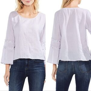 NWT Vince Camuto Ruffle Sleeve Blouse